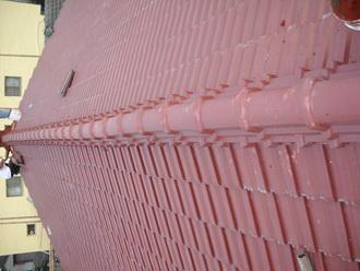 屋頂屋瓦翻修   屋瓦施工後