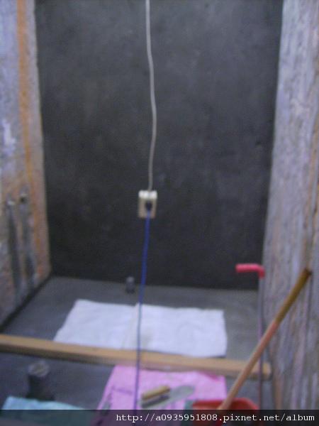 浴室整修一 防水施做