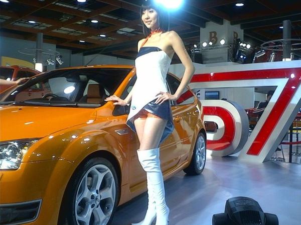 台北國際FORD車展美女