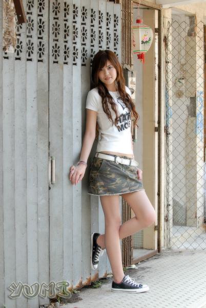 HK Model ~ Yumi ~ 大自然與短裙仔共行 (7).jpg