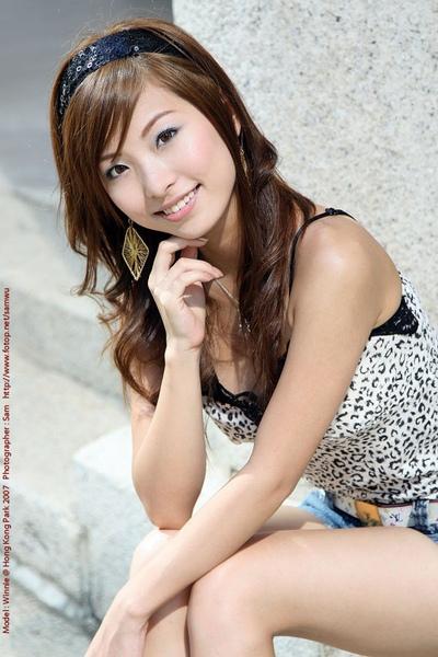 香港模特兒