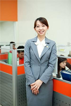 台灣房屋加盟總部總經理余淑玲