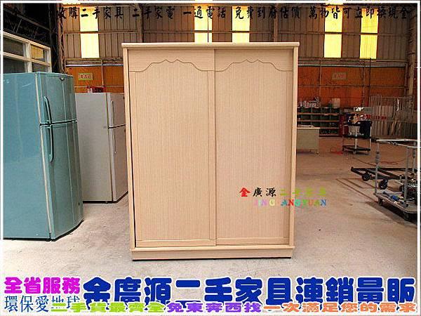 IMG_1836白橡木色五尺衣櫃$7500-152-61-195