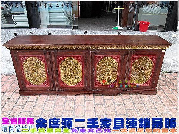 IMG_4541 實木民族風置物櫃 $20000-215x46x83