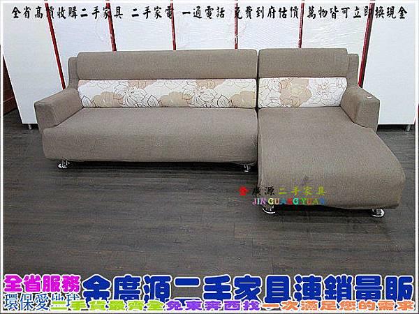 IMG_4701L型布沙發$5800-207x150x80