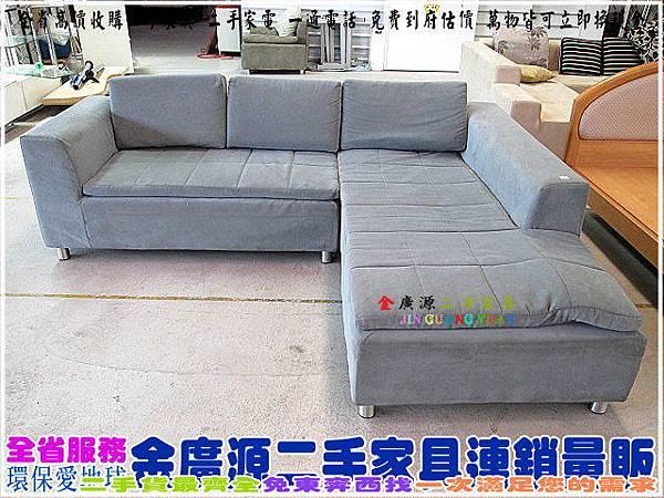 IMG_4182L型麂皮布沙發椅$7000-256x200x45