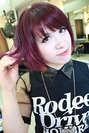 2014紫羅蘭髮色