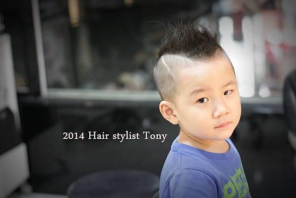 2014 小男孩  酷炫髮型