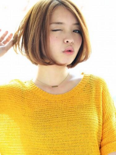 2015短髮輕盈感髮型