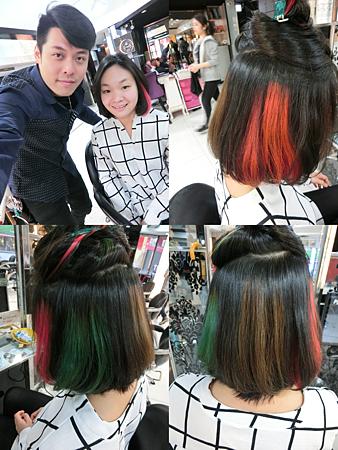 2016流行髮色隱藏式染髮