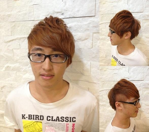 2013 男生空氣燙 染髮