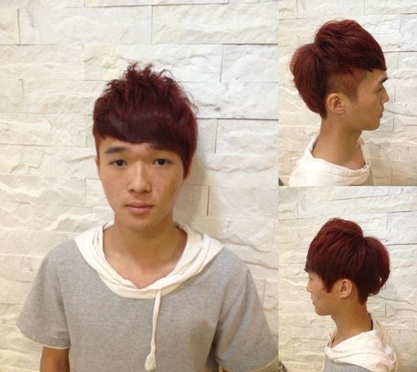 2013 男生 染髮 空氣燙