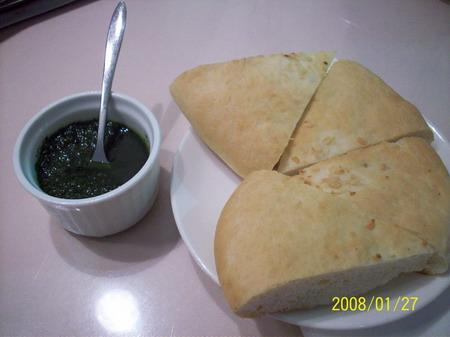 麵包與青醬
