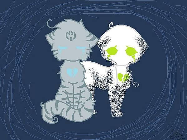 Jayfeather & Half-Moon---Heart is broken