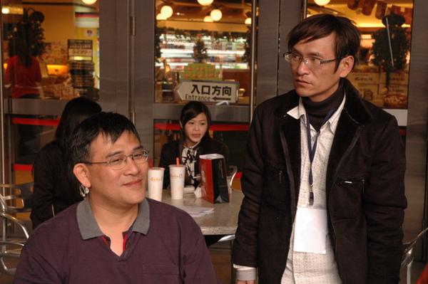 導演的同學跨刀擔任攝影工作.JPG
