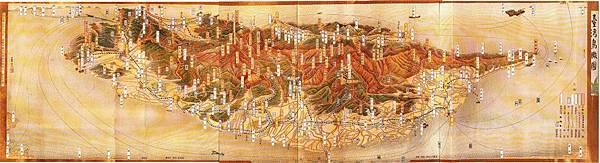 1935年臺灣鳥瞰圖
