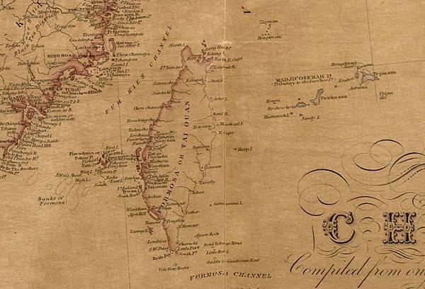 1842年中國古地圖