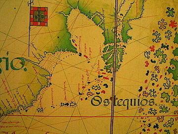 台灣的一張地圖(1554年)