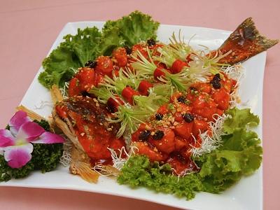 松子葡萄魚