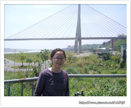 斜張橋下-「高屏溪自然生態文化園區」景緻