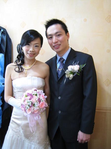 最後,祝福新郎新娘久久久!