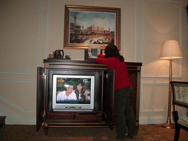 在酒店看的到金色摩天倫XD