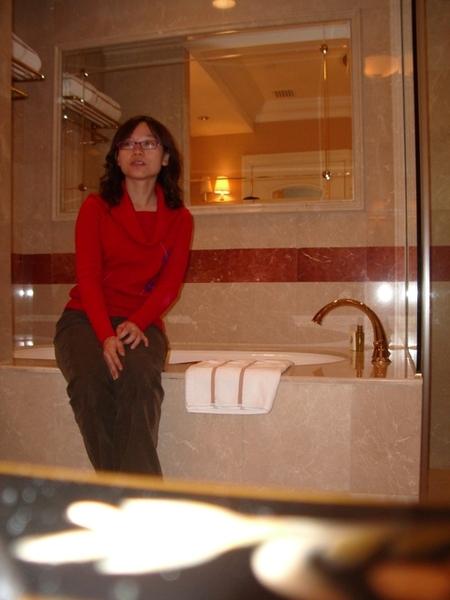 這浴室真是太讚了!