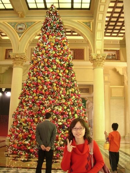 剛好是聖誕節前夕,所以酒店也有聖誕樹飾品