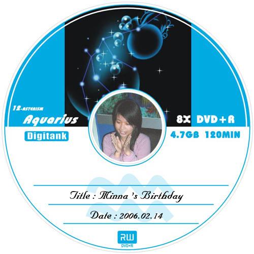 生日卡--水瓶CD