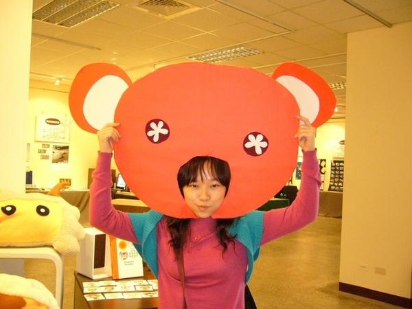 紅色有點恐怖就是了,還是習慣褐色的熊熊@@