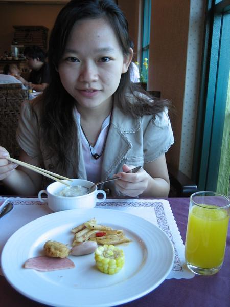 中西式自助式早餐