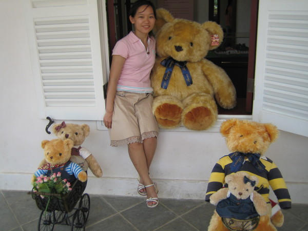 好想把大熊熊抱回家喔!