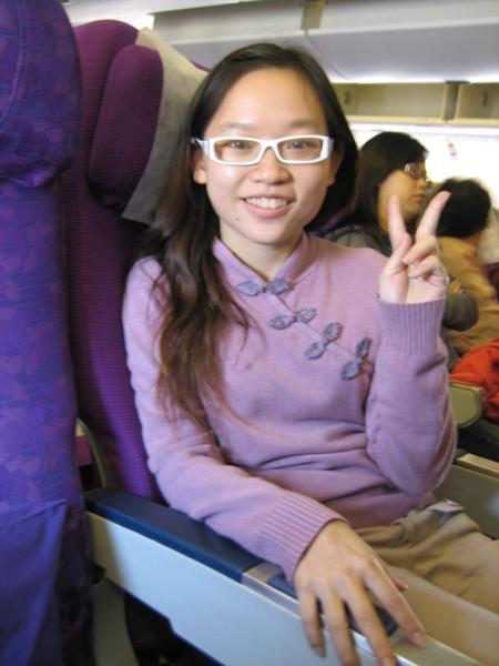泰航的紫色系我愛