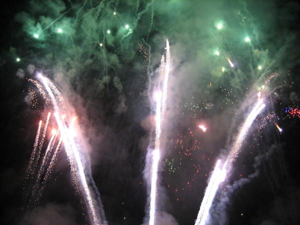 愛寶樂園--30週年慶之煙火秀