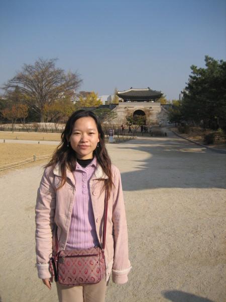 景福宮出口前