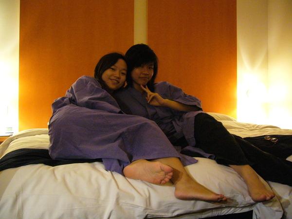 飯店的浴袍