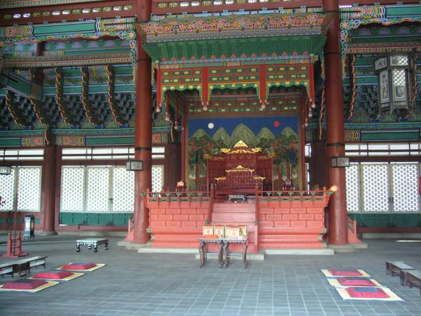 景福宮(韓國古代皇帝開會的地方)