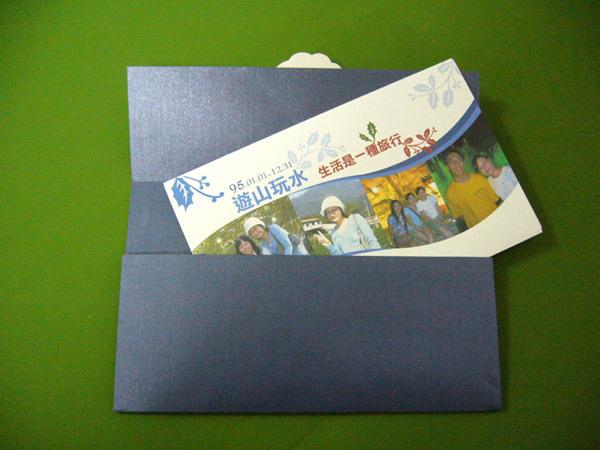 實體成品:信封+卡片
