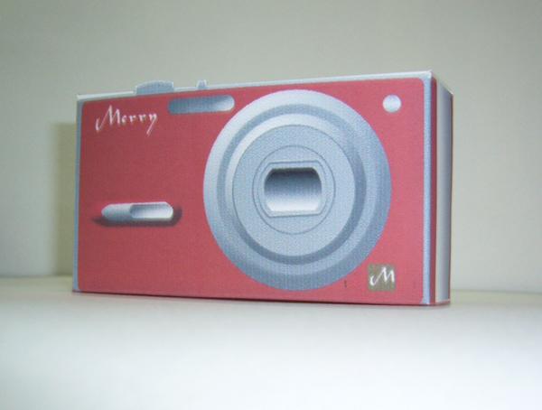 94年聖誕卡:立體相機