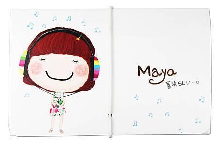MY-011-迷你風琴夾-戴耳機