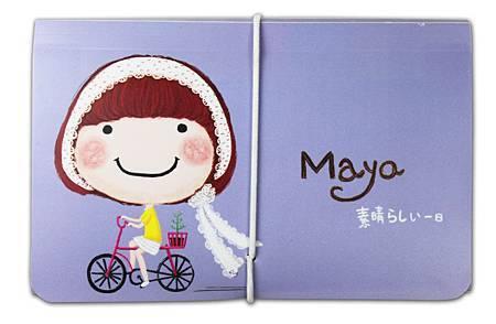 MY-011-迷你風琴夾-載盆栽