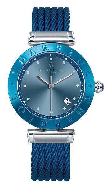 5.AlexCArtEdition系列錶款-藍色珍珠貝母Classic錶面NT$ 63,700
