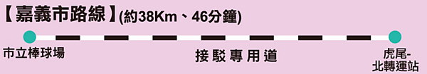 2017台灣燈會台鐵嘉義市虎尾接駁專車(北轉運站)