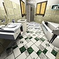 1樓雙人房1(右)的衛浴