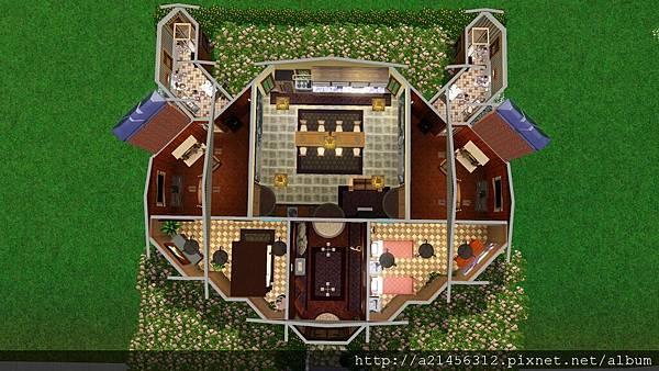 房子結構 金牛座的星座符號 因應金牛座的愛家 所以設計了一間小孩房