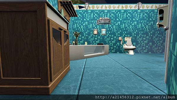 右方雙人房2的浴室