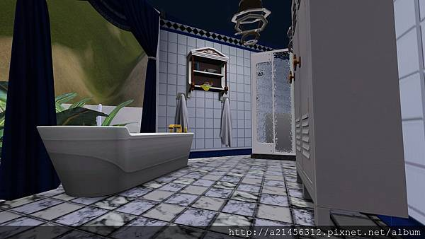 左方雙人房3的浴室1