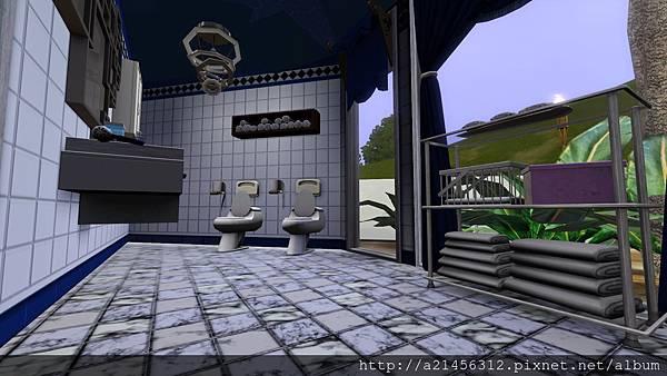 左方雙人房3的浴室2