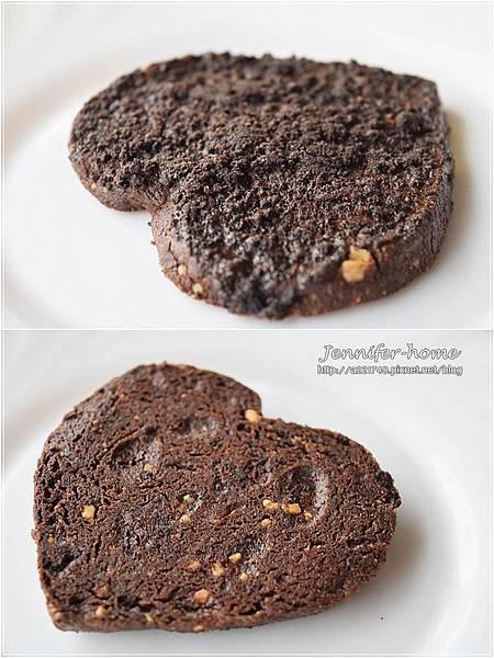 巧克力心餅