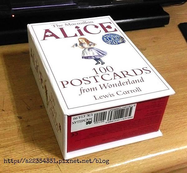 Alice postcards in a Box